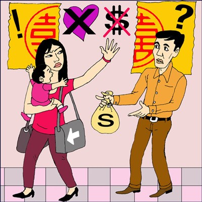 Các vấn đề về con cái, tài sản khi ly hôn