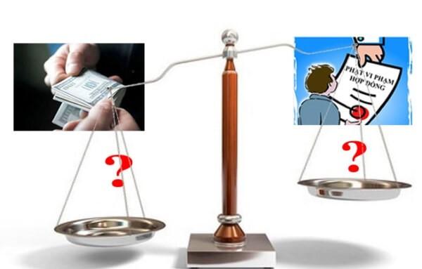 So sánh phạt vi phạm và bồi thường thiệt hại theo quy định của pháp luật